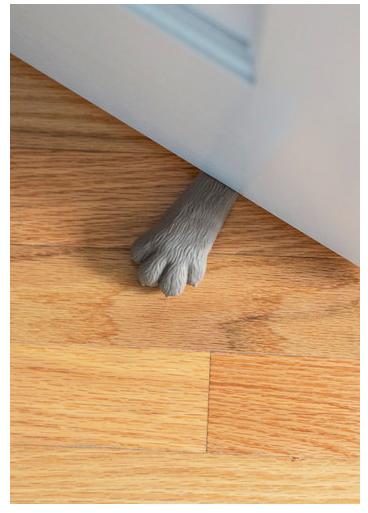 Id es originales de cadeaux de no l pour chat chat - Cale porte ikea ...