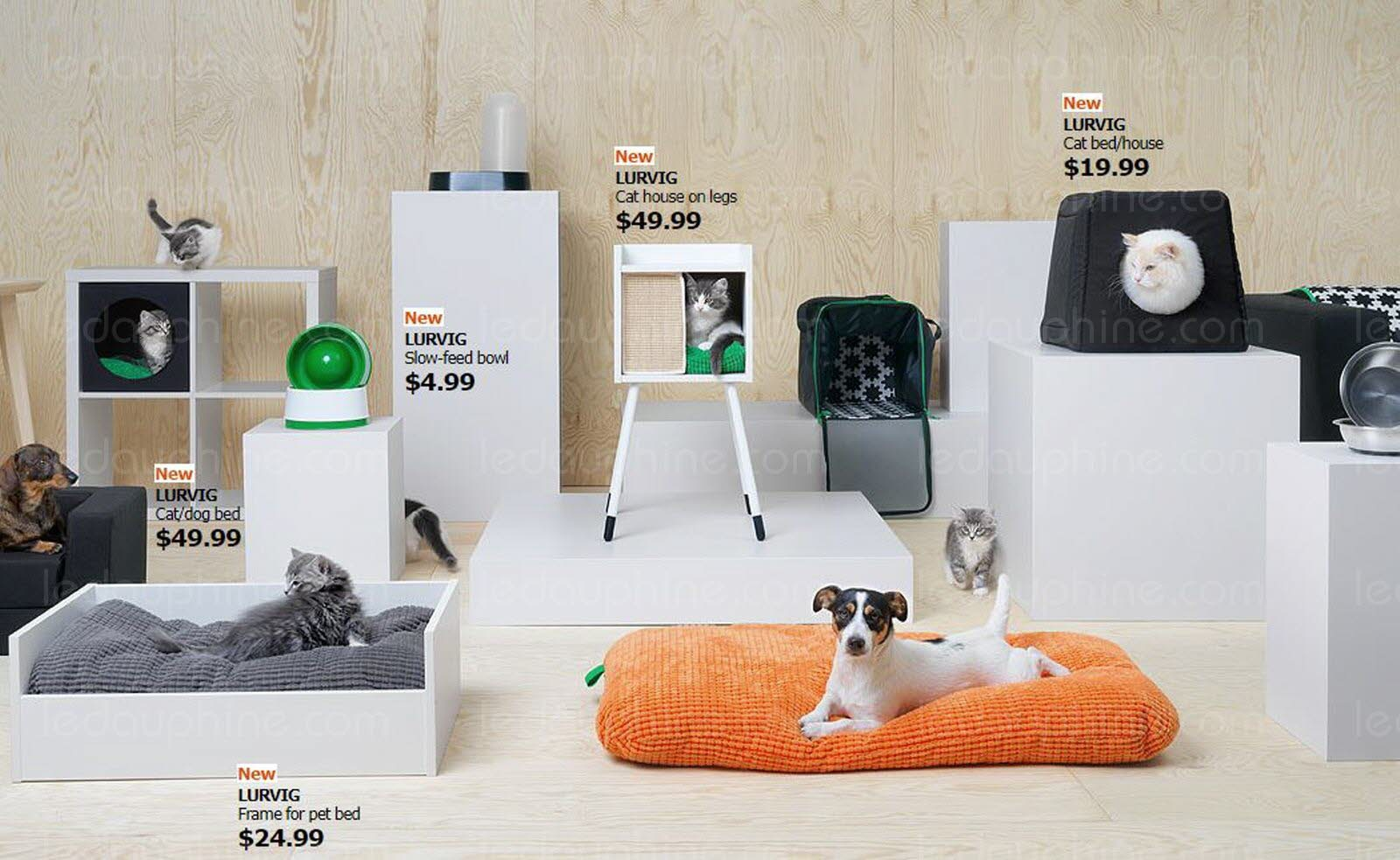 Ikea Lance Des Meubles Pour Les Chiens Et Les Chats Chat Perlipopette Com